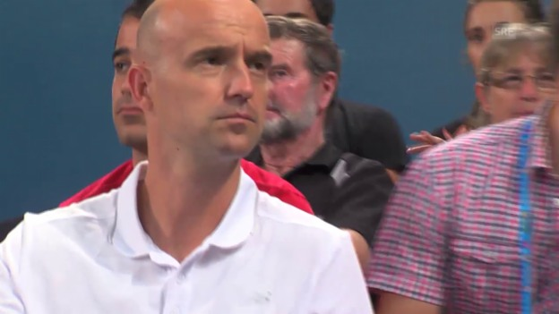Video «Roger Federer über seinen neuen Coach Ivan Ljubicic» abspielen