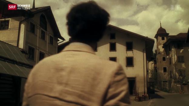 Video «Valendas: kleines Dorf ganz gross im Film» abspielen