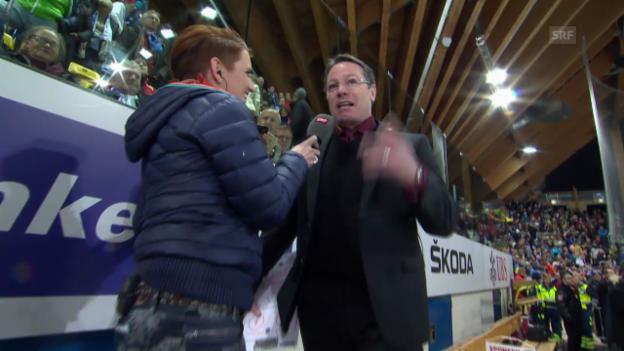 Video «Eishockey: Spengler Cup, Genf - Rochester («sportlive», 26.12.2013)» abspielen