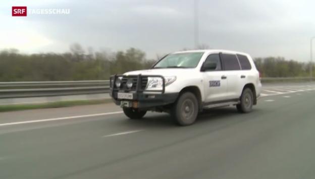 Video «Didier Burkhalter zur OSZE-Mission» abspielen
