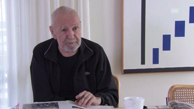 Video «Scheidegger über sein Treffen mit Picasso» abspielen