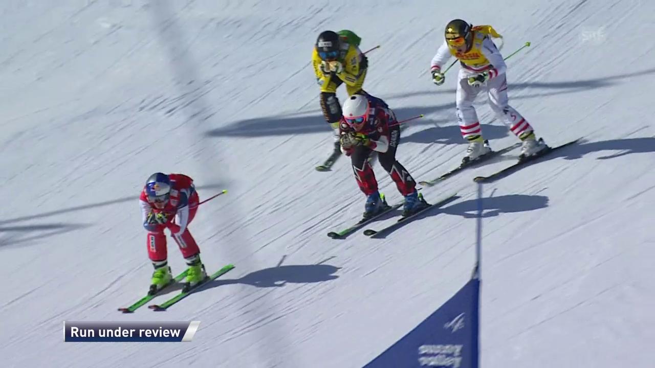 Schweizer Skicrosser spielen ihre Dominanz aus