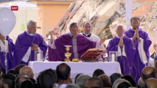 Video «Italien trägt weiterhin Trauer» abspielen