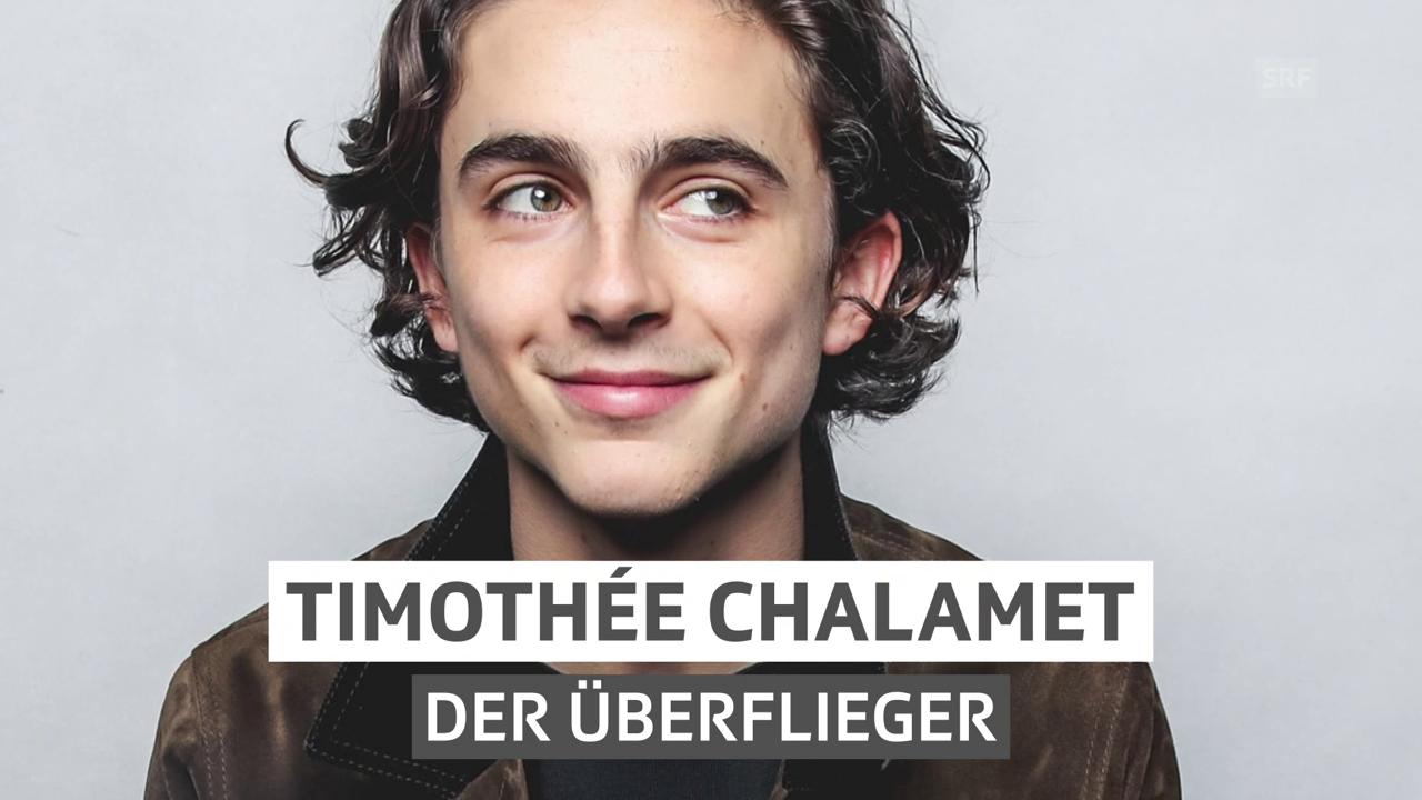 Timothée Chalamet – der Überflieger