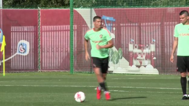 Video «Ronaldo und Portugal vor dem Confed Cup» abspielen