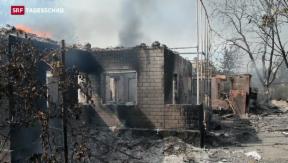 Video «In der Ukraine hält die Waffenruhe nicht» abspielen