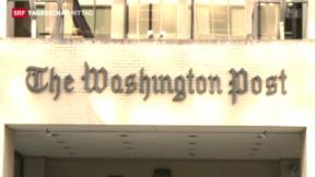 Video «Amazon-Gründer kauft Washington-Post» abspielen
