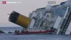 Video «Die letzte Fahrt der «Costa Concordia»» abspielen