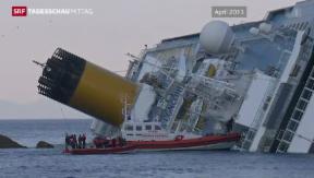 Video «Die letzte Fahrt der «Costa Concordia» » abspielen