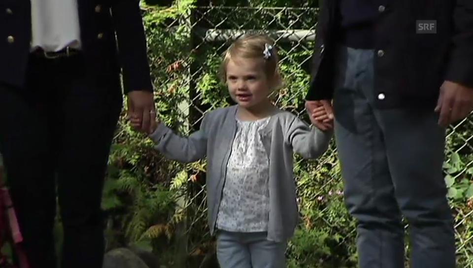 Prinzessin Estelles erster Tag im Kindergarten