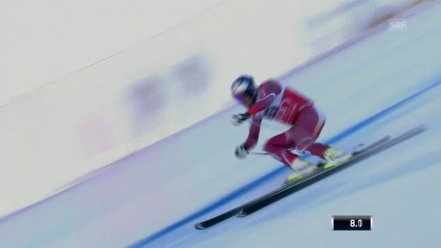 Video «Ski: Abfahrt Männer, Santa Caterina» abspielen