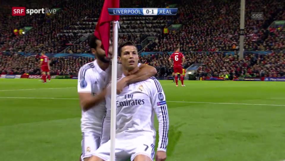 Fussball: Ronaldo trifft an der Anfield Road