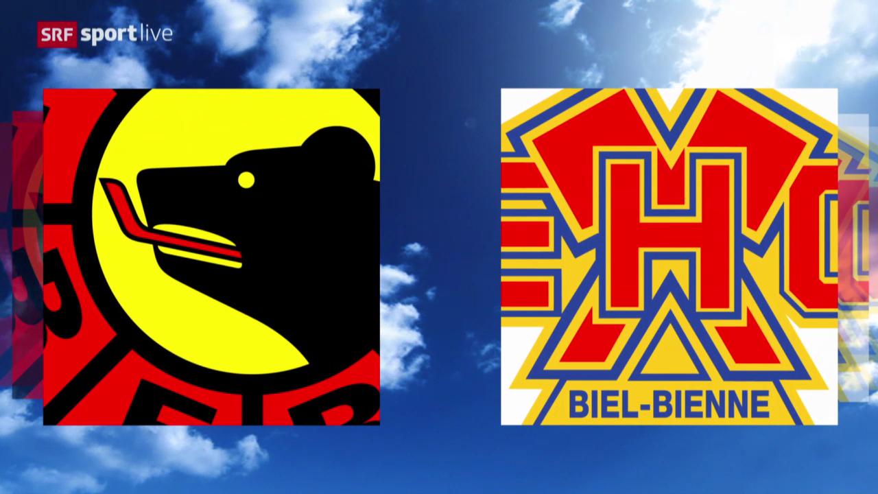 Eishockey: Zusammenfassung Bern - Biel («sportlive», 11.03.2014)