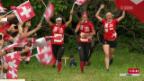 Video «Frauen-Staffel holt Gold an OL-EM» abspielen