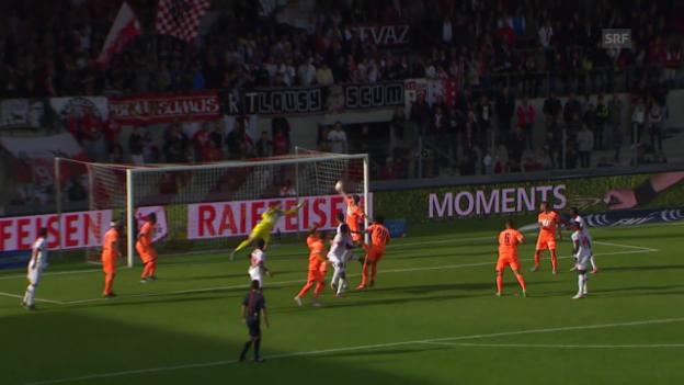 Video «Fussball: Super League, Hands Benjamin Lüthi» abspielen
