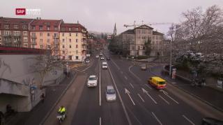 Video «Verkehrsentlastung Rosengartenstrasse Zürich» abspielen