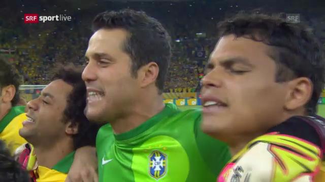 Gänsehaut bei der brasilianischen Nationalhymne