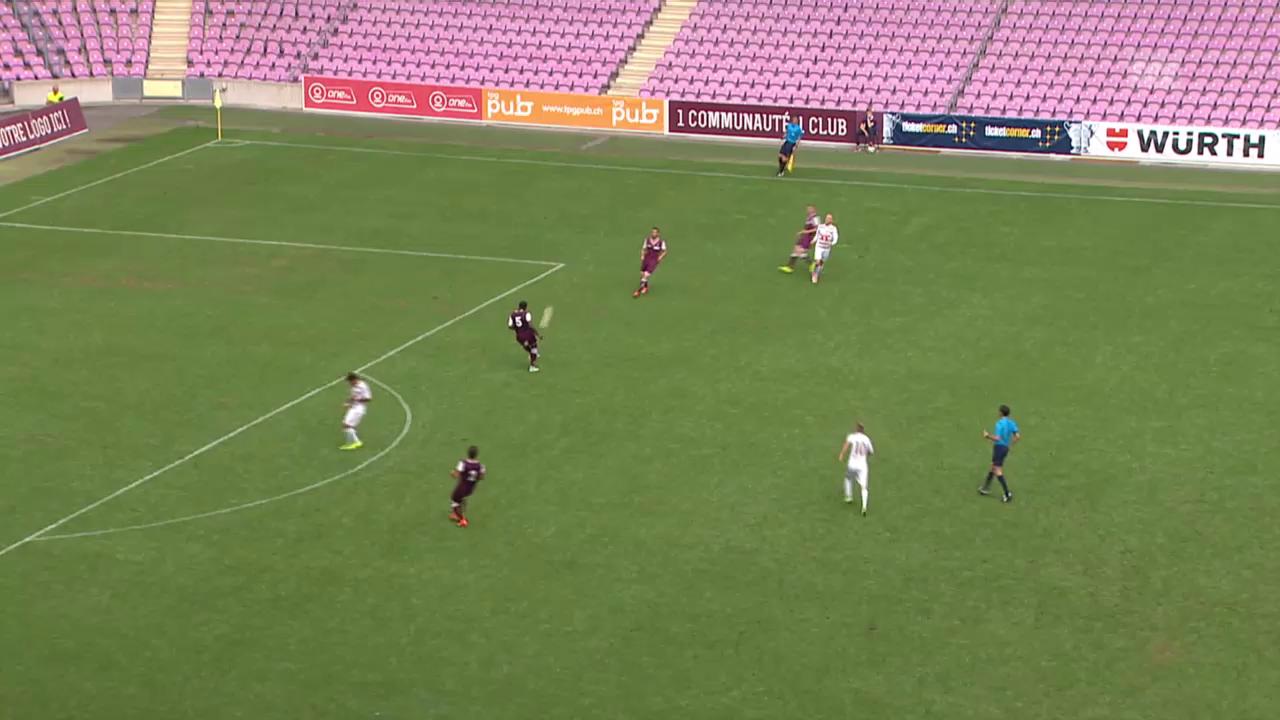 Fussball: Schweizer Cup, 1. Runde: Servette -Luzern, Alle Tore