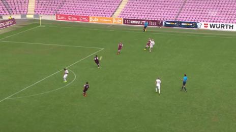 Video «Fussball: Schweizer Cup, 1. Runde: Servette -Luzern, Alle Tore» abspielen