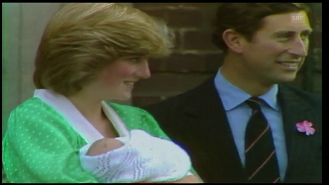 Dianas und Charles erstes Kind ist da (Agenturen, 1982)
