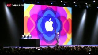 Video «Apple steigt bei chinesischen Fahrdienstvermittler ein» abspielen