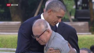 Video «FOKUS: Obama gedenkt Hiroshima-Opfern» abspielen