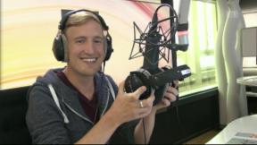 Video «Auf Sendung: Stefan Büsser mit eigener Show » abspielen