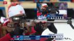 Video «Biathlon: Das Rennen der Frauen über 15km» abspielen
