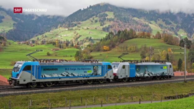 Video «BLS-Loks mit Problemen im Gotthard-Basistunnel» abspielen