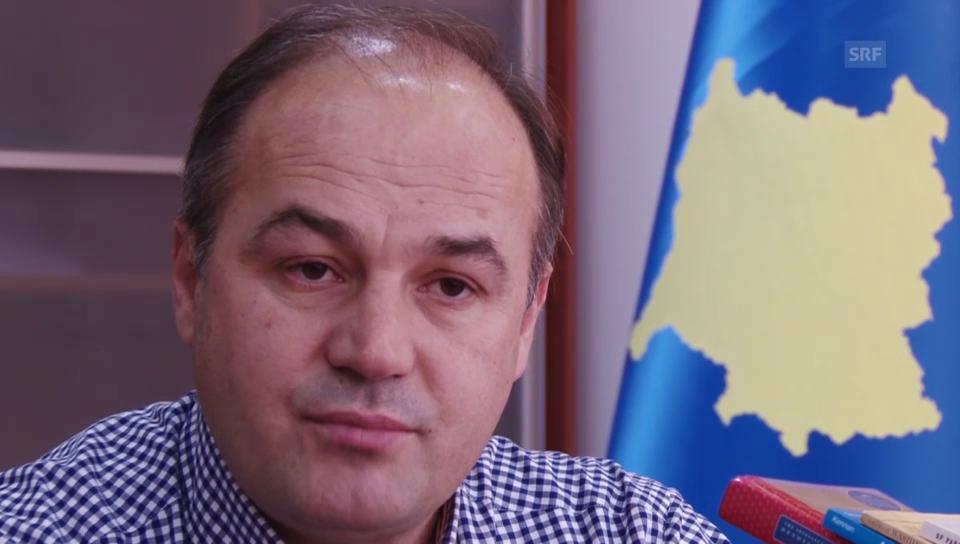 Enver Hoxhaj, Präsident aussenpolitische Kommission in Kosovo und Vertrauter von Hashim Thaçi