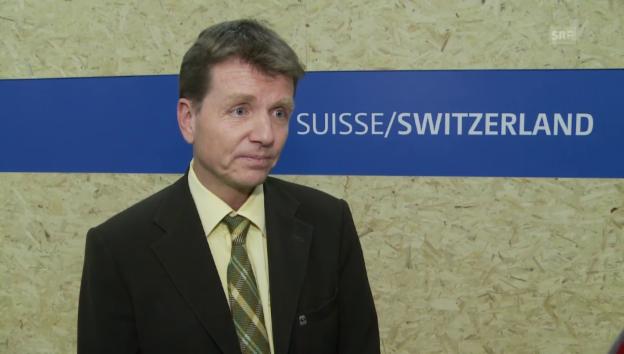 Video «Einschätzungen von Patrick Hofstetter, WWF Schweiz» abspielen