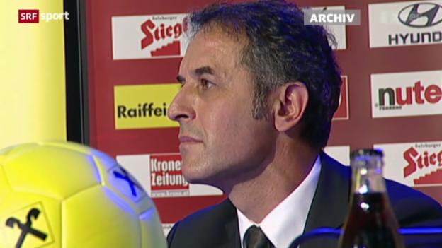 Video «Fussball: Koller sagt dem SFV ab» abspielen
