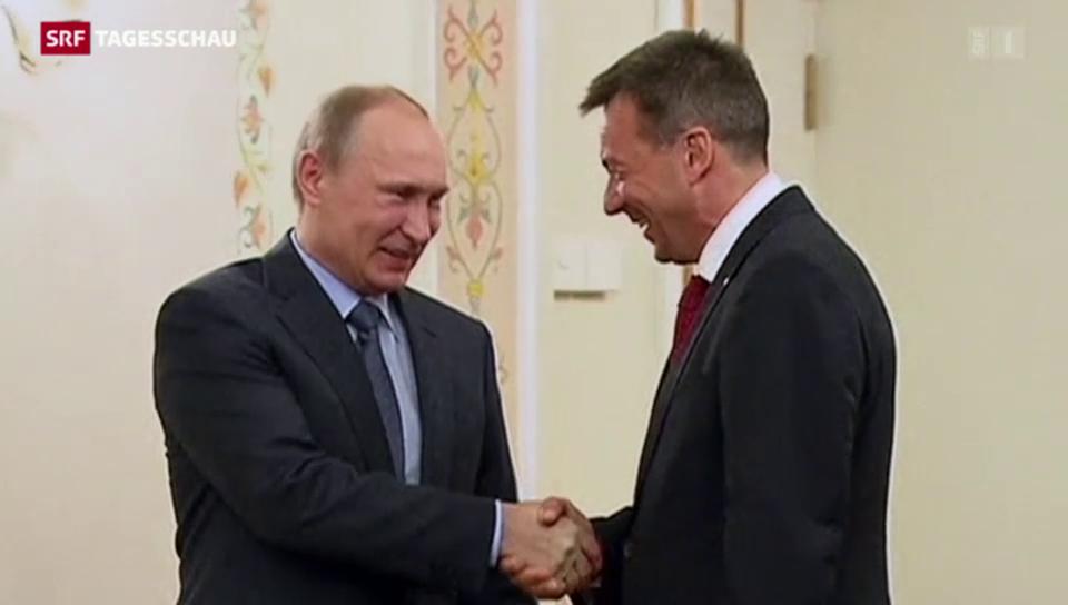 IKRK-Chef Maurer unterwegs in der Ukraine