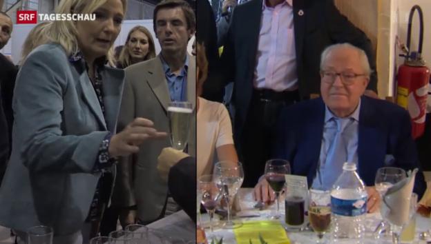 Video «Le Pen gegen Le Pen» abspielen