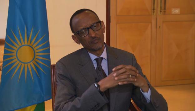 Video «Ruandas Präsident über die Zukunft des Landes.» abspielen