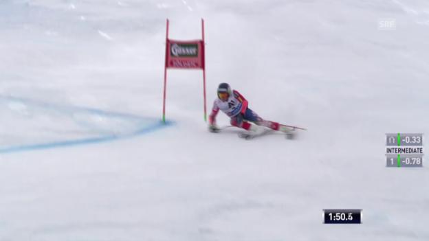 Video «Ski: RS M Sölden, 2. Lauf von Ted Ligety» abspielen