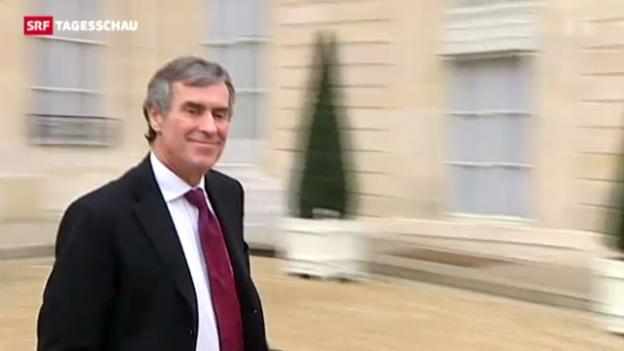 Video «Ermittlungen gegen Frankreichs Budgetminister Cahuzac» abspielen