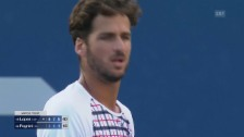 Video «Tennis: US Open 2015, Männer, Achtelfinal, Feliciano Lopez - Fabio Fognini» abspielen