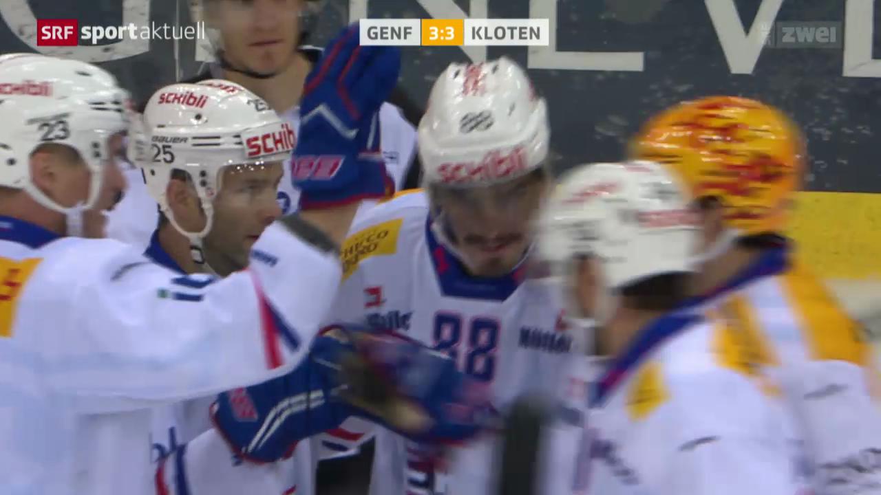 Eishockey: NLA, Genf-Servette - Kloten Flyers