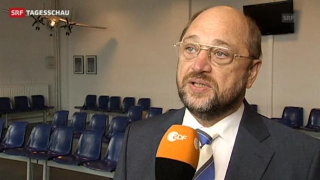Video «EU-Vertreter reagieren empört über die US-Spähangriffe» abspielen