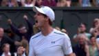 Video «Murray mit grossartiger Wende im 4. Satz» abspielen