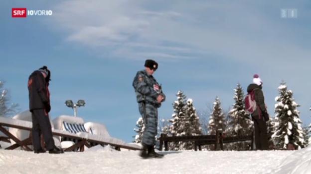 Video «Sotschi fürchtet Terroranschläge» abspielen