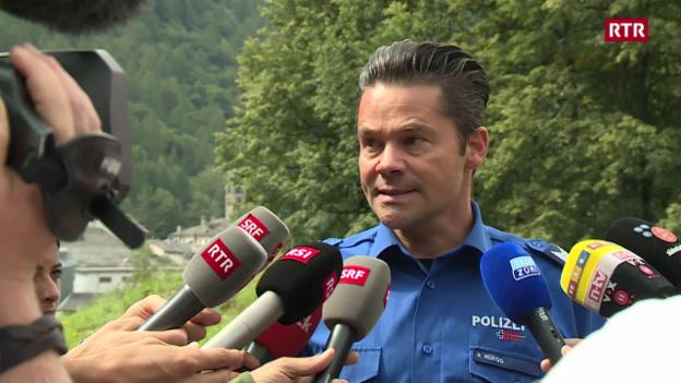 Laschar ir video «I na vegn betg pli tschertgà: Roman Rüegg, pledader da medias polizia (en tud.).»