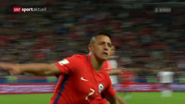 Video «Deutschland trotzt Chile ein 1:1 ab» abspielen