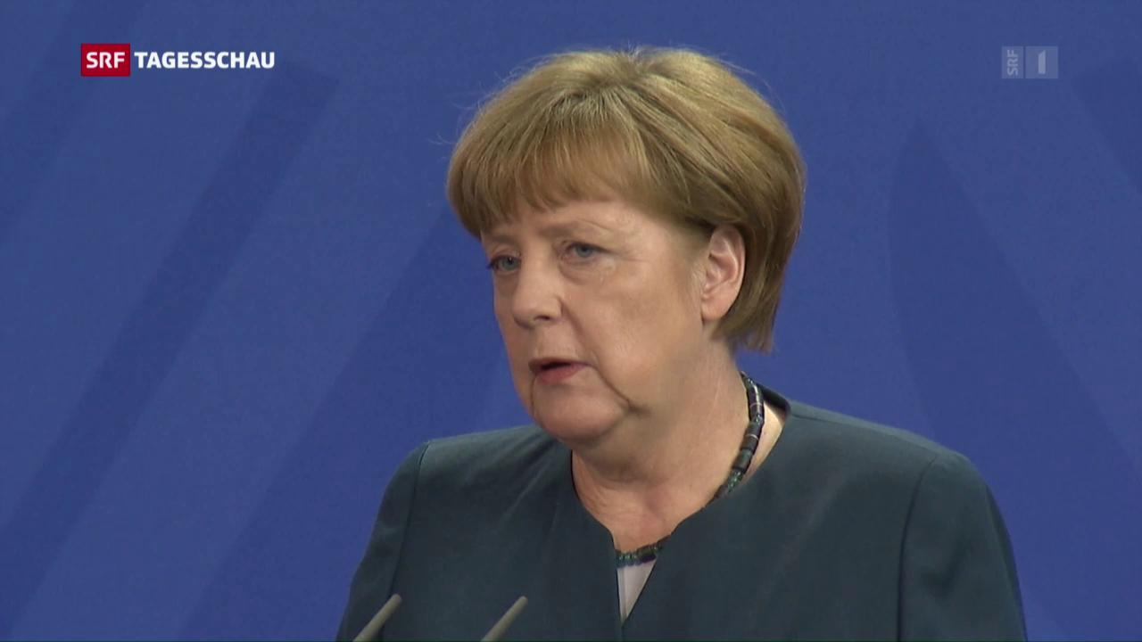 Kanzlerin Merkel zur Strafanzeige
