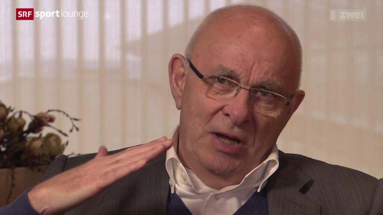 Blatters Gegner – der Niederländer van Praag