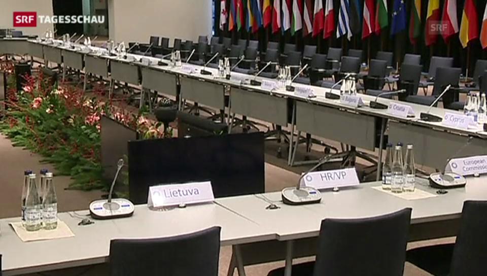 EU-Ostgipfel (Tagesschau 28.11.13)