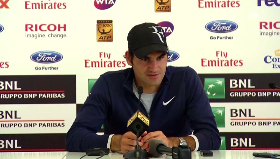 Tennis: Rom 2014, Federer scheitert an Chardy