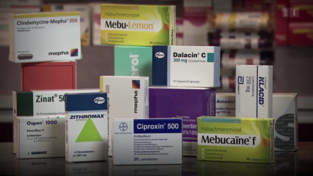 Video «Antibiotika gegen Erkältung sind meist wirkungslos» abspielen