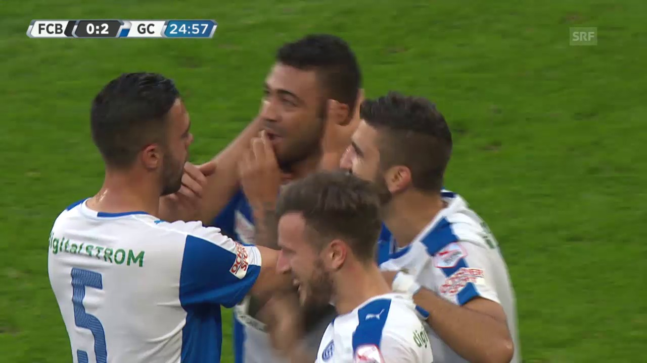 Fussball: Super League, Basel - GC, 0:2 für GC